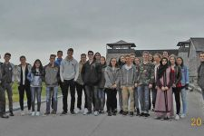 Die 3. Klasse der HAK Landeck besuchte die Gedenkstätte Mauthausen