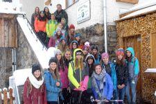 2015-16 Winterliche Verhältnisse für die 1HWB in Serfaus