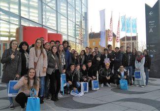 2018-19 Schüler/innen der HAK Landeck nahmen am Wirtschaftskongress in Wien teil