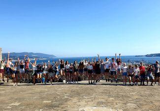 2019-20 Die 3. Klassen der HLW Landeck auf Sprachreise in Italien