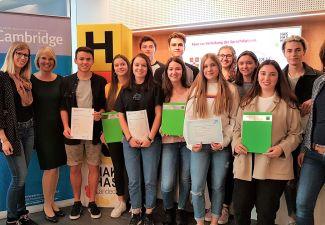 2019-20 Verleihung von Sprachenzertifikaten an der HAK und der HLW Landeck