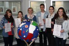 2013-14 Hervorragende Leistungen beim Landes-Fremdsprachenbewerb der BMHS