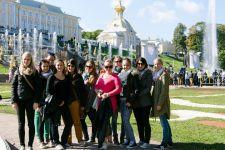 2014-15 Die HLW Landeck war in St. Petersbrug in Russland