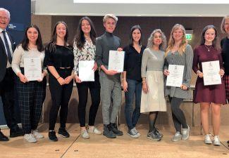 2018-19 Die Fremdsprachenausbildung führte zum großen Erfolg beim Landesfremdsprachen-Wettbewerb 2019