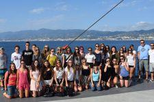 2016-17 Sprachwoche der 3. HLW in Tropea/Italien