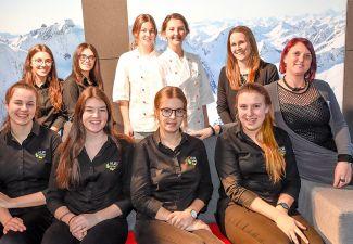 2018-19 Die HLW Landeck arbeitete im TirolBerg in Schweden mit