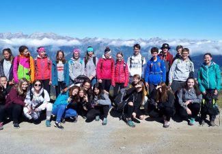 2019-20 Die 1HWA auf Exkursion in Serfaus
